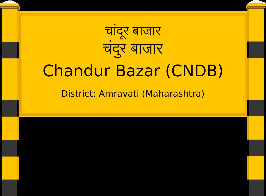 Chandur Bazar (CNDB) Railway Station