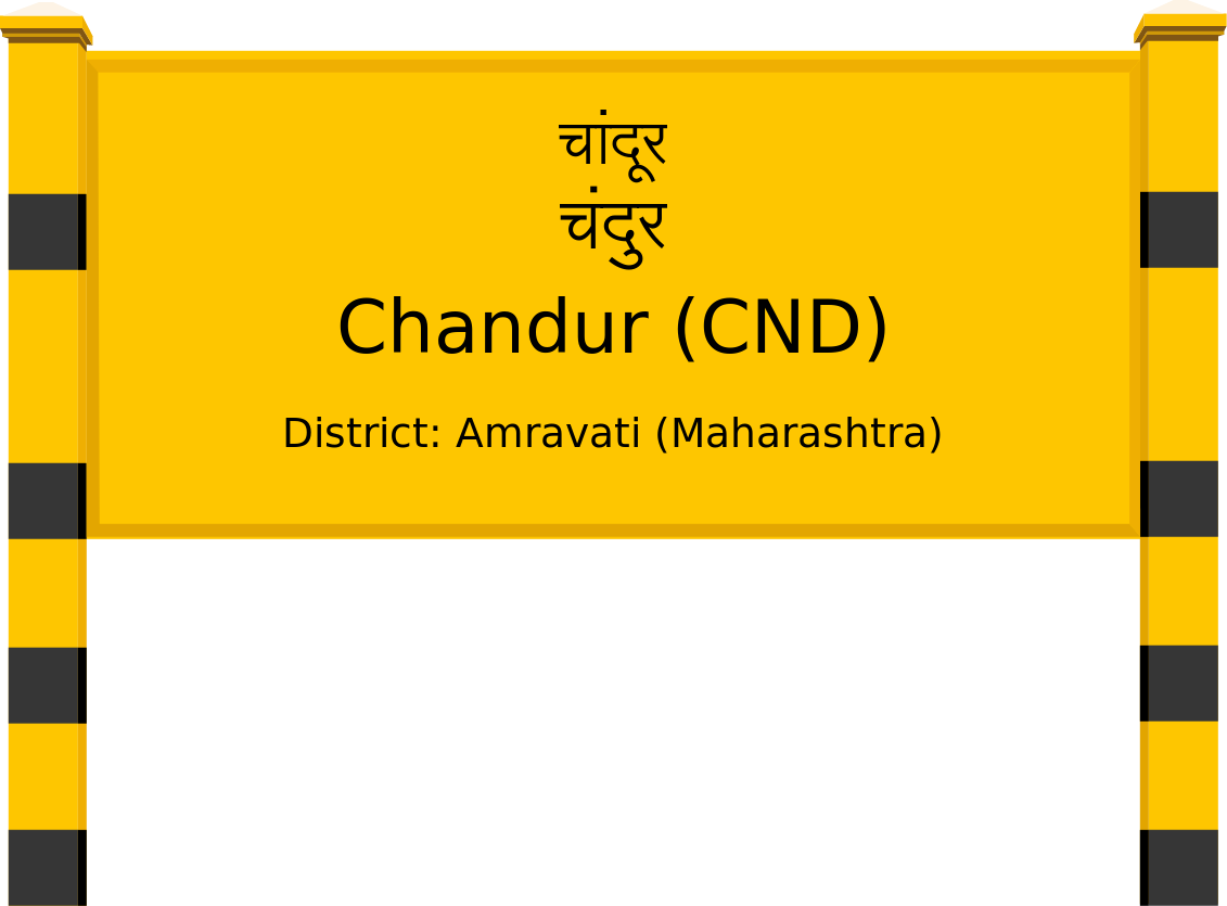 Chandur (CND) Railway Station
