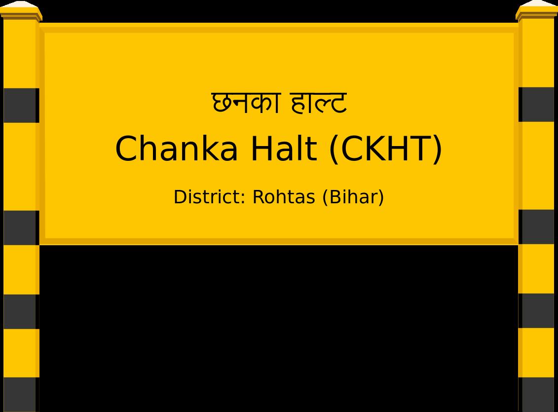 Chanka Halt (CKHT) Railway Station