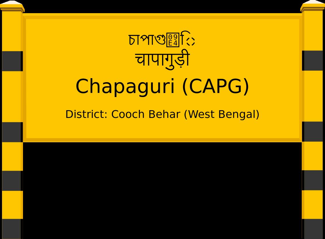 Chapaguri (CAPG) Railway Station
