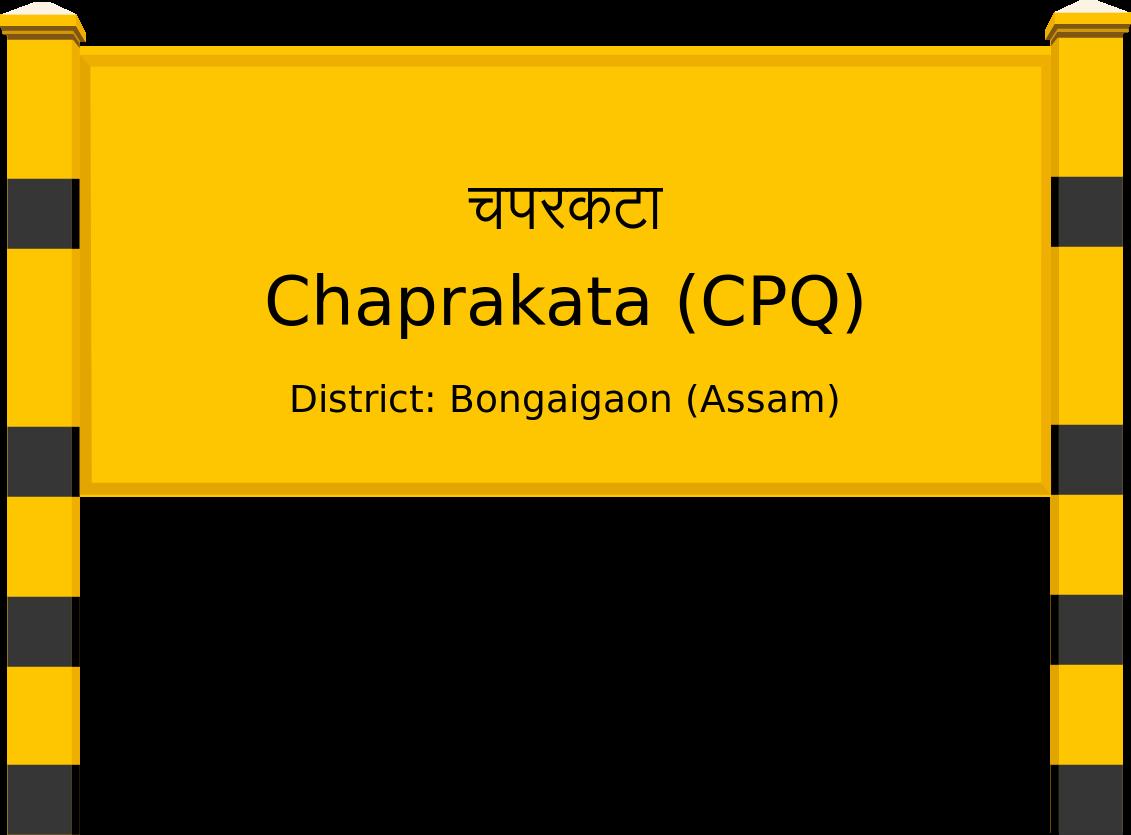Chaprakata (CPQ) Railway Station