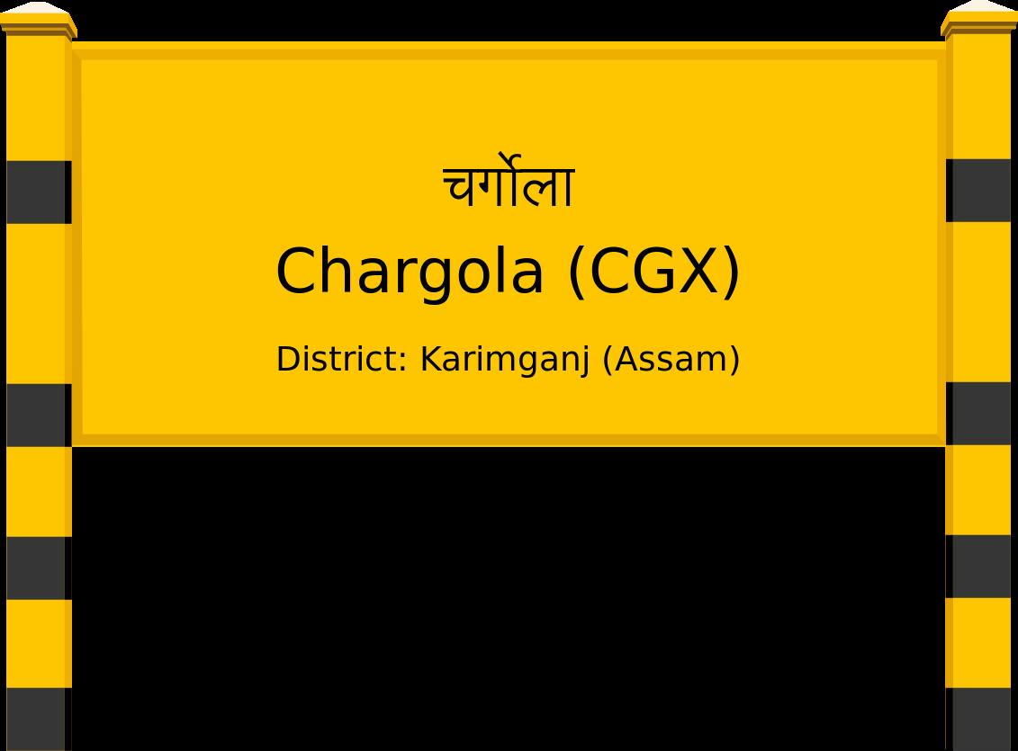 Chargola (CGX) Railway Station