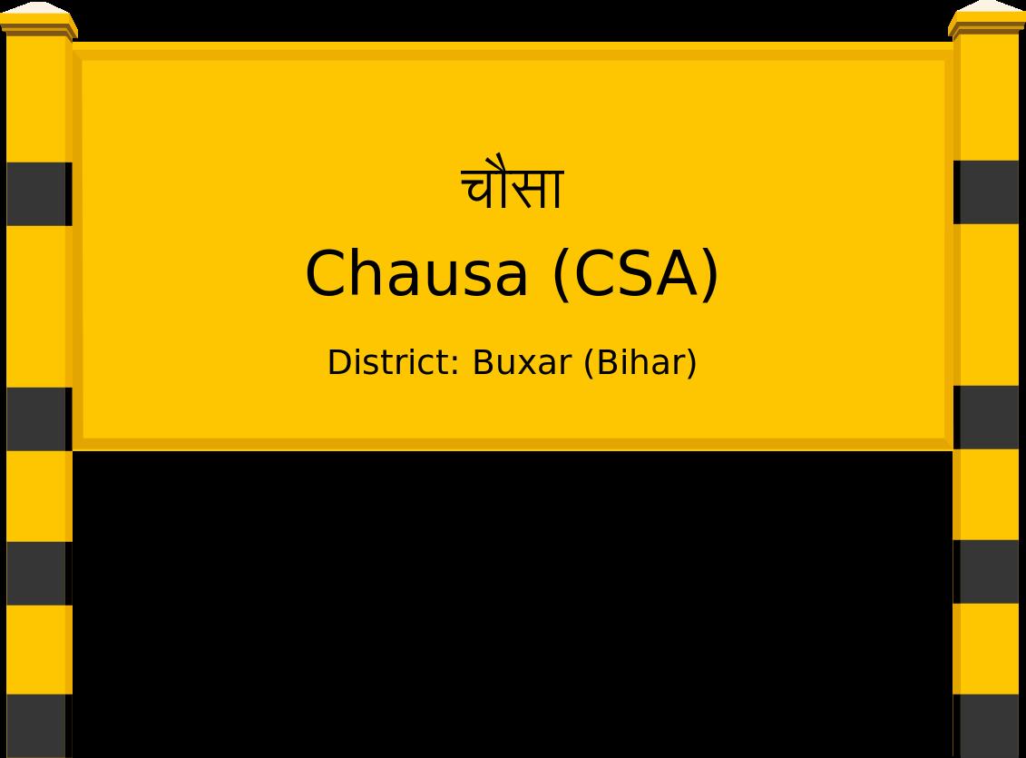 Chausa (CSA) Railway Station