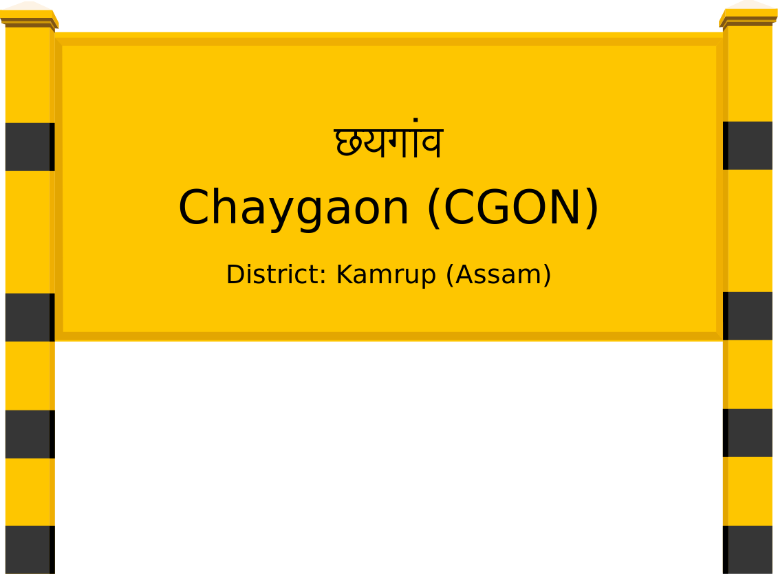Chaygaon (CGON) Railway Station