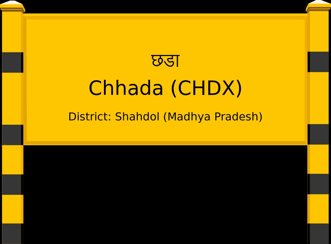 Chhada (CHDX) Railway Station