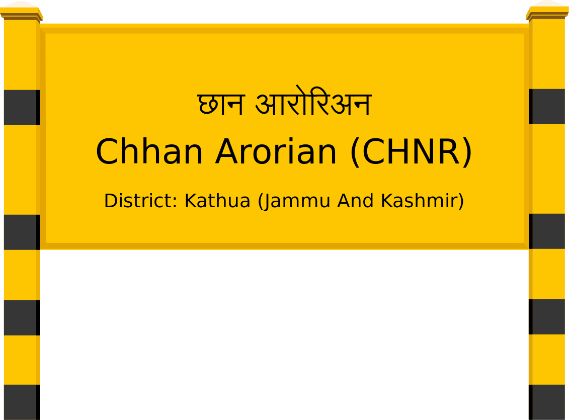 Chhan Arorian (CHNR) Railway Station