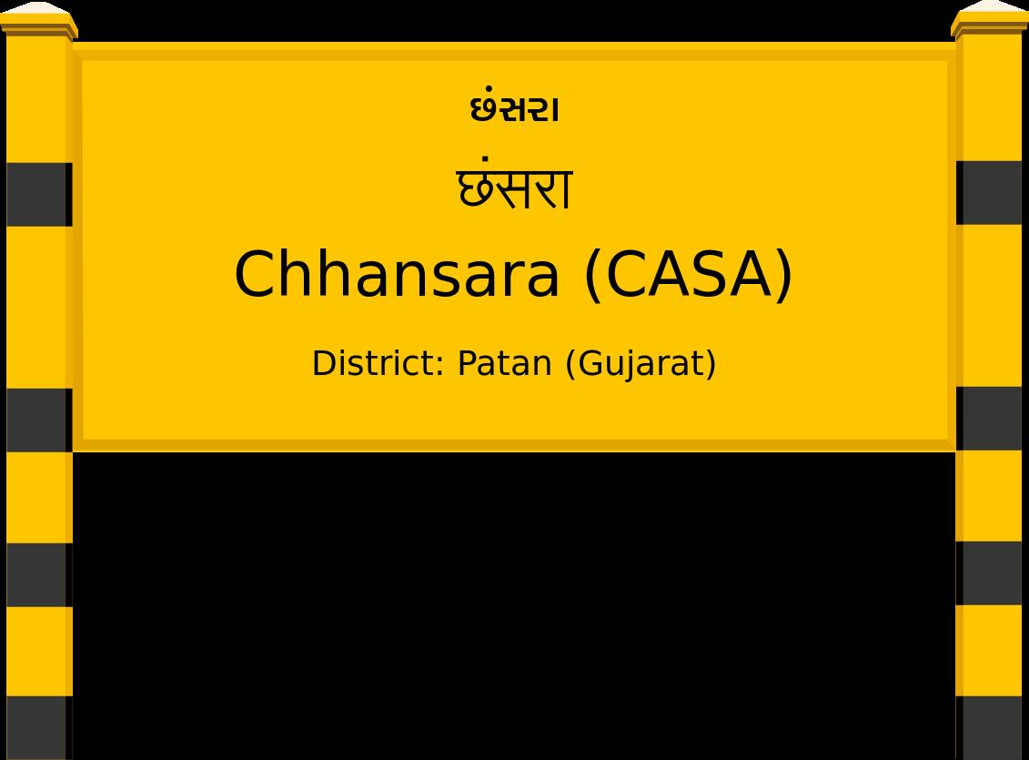 Chhansara (CASA) Railway Station