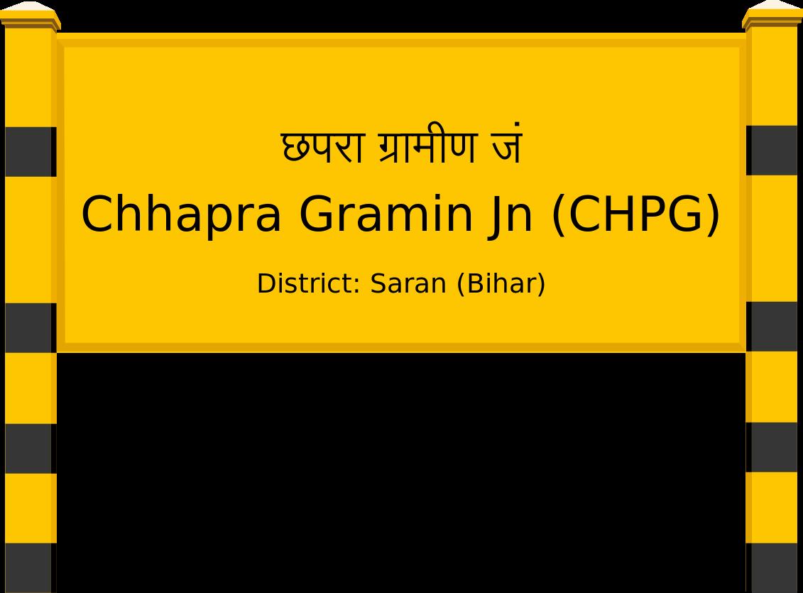 Chhapra Gramin Jn (CHPG) Railway Station