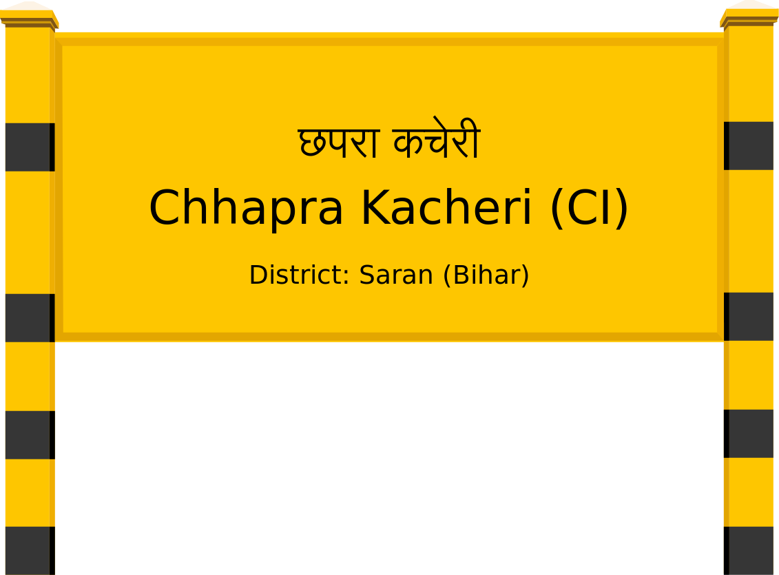 Chhapra Kacheri (CI) Railway Station