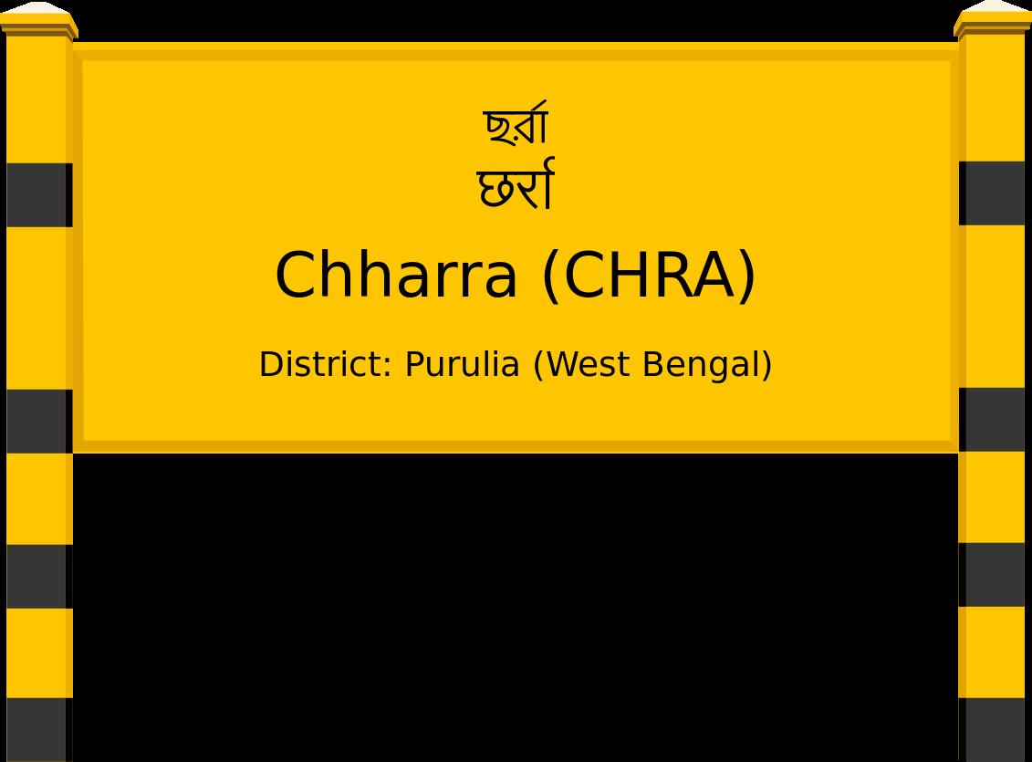 Chharra (CHRA) Railway Station
