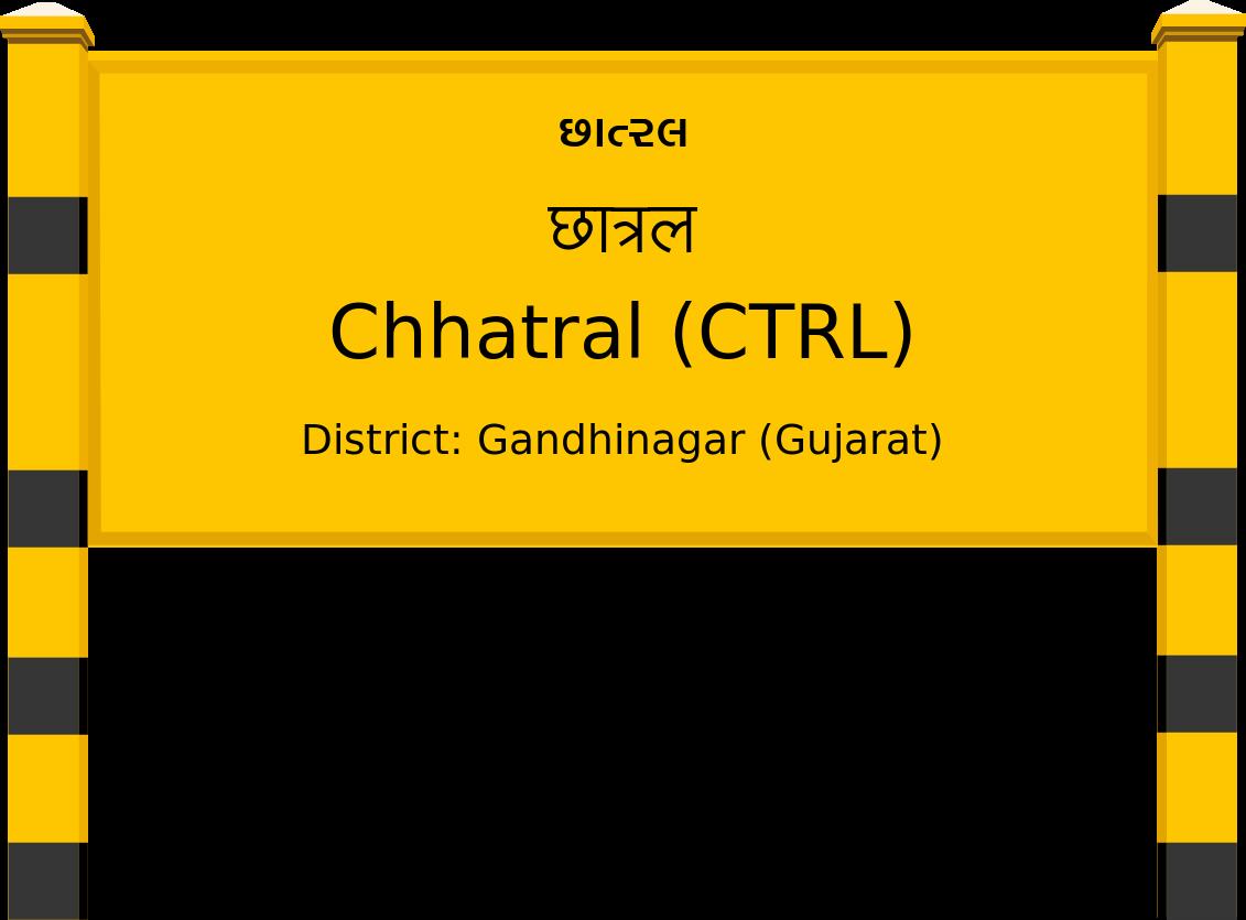 Chhatral (CTRL) Railway Station