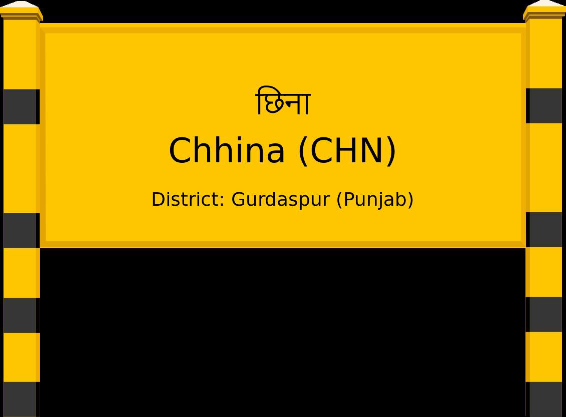 Chhina (CHN) Railway Station