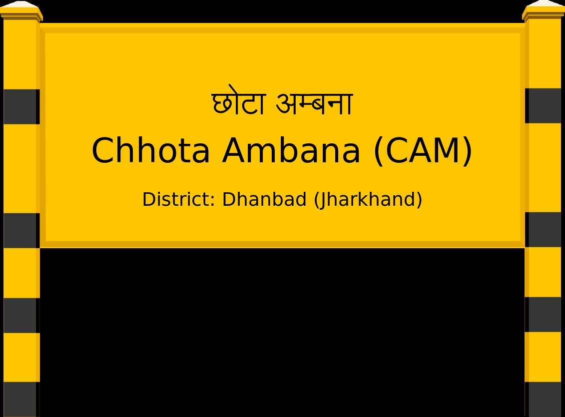 Chhota Ambana (CAM) Railway Station