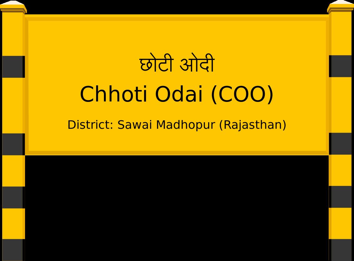 Chhoti Odai (COO) Railway Station