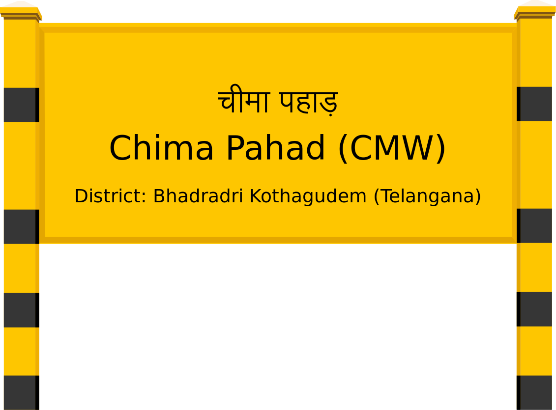 Chima Pahad (CMW) Railway Station