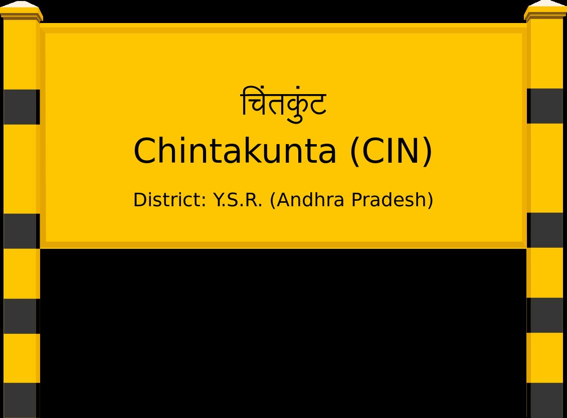 Chintakunta (CIN) Railway Station