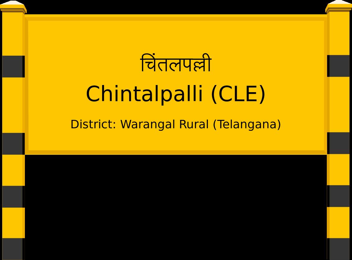 Chintalpalli (CLE) Railway Station