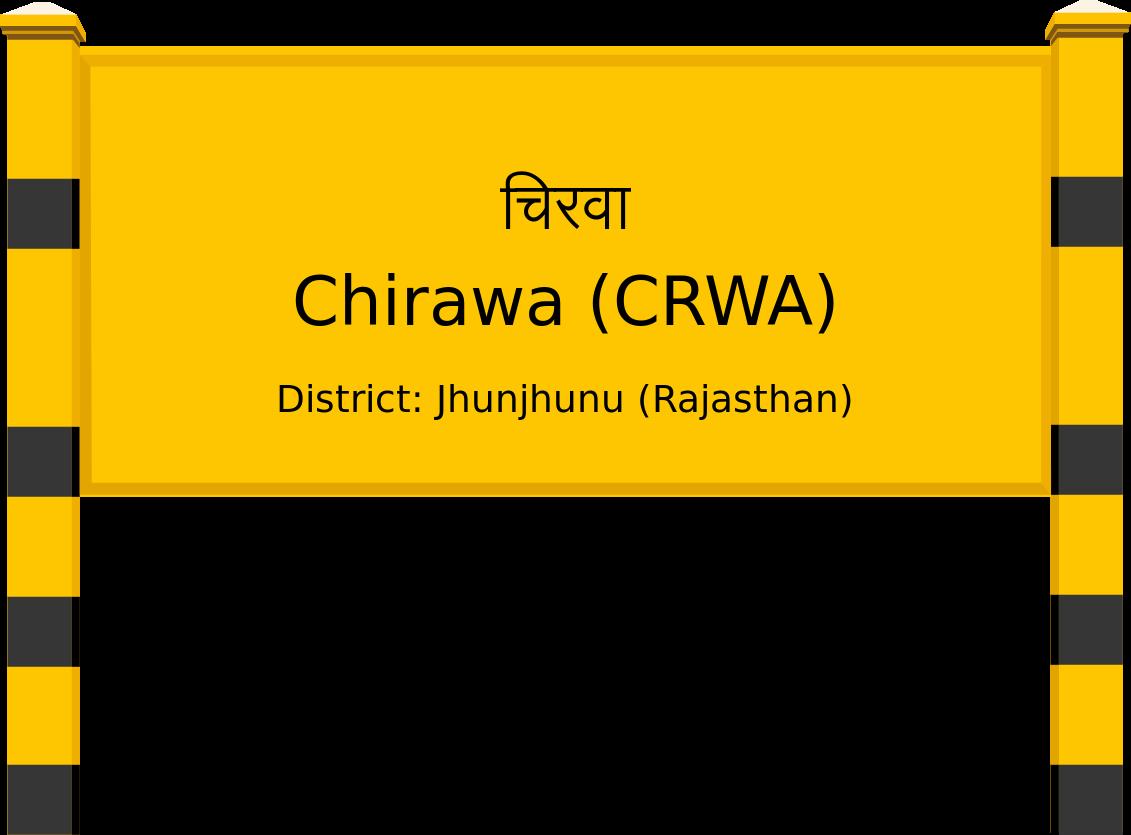 Chirawa (CRWA) Railway Station