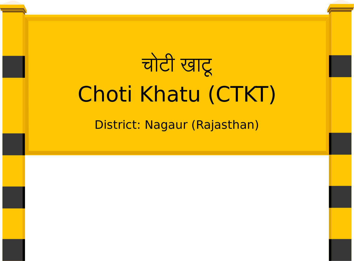 Choti Khatu (CTKT) Railway Station