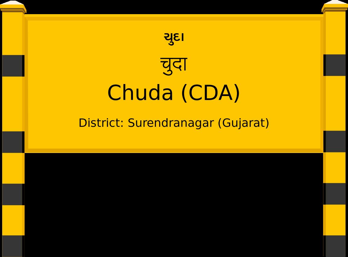 Chuda (CDA) Railway Station