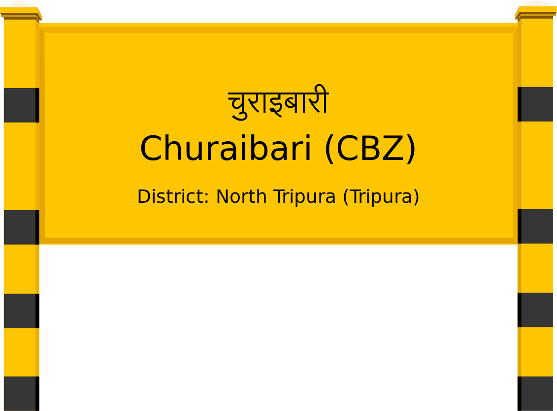 Churaibari (CBZ) Railway Station