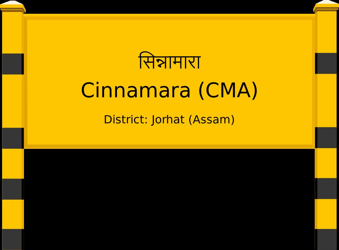 Cinnamara (CMA) Railway Station