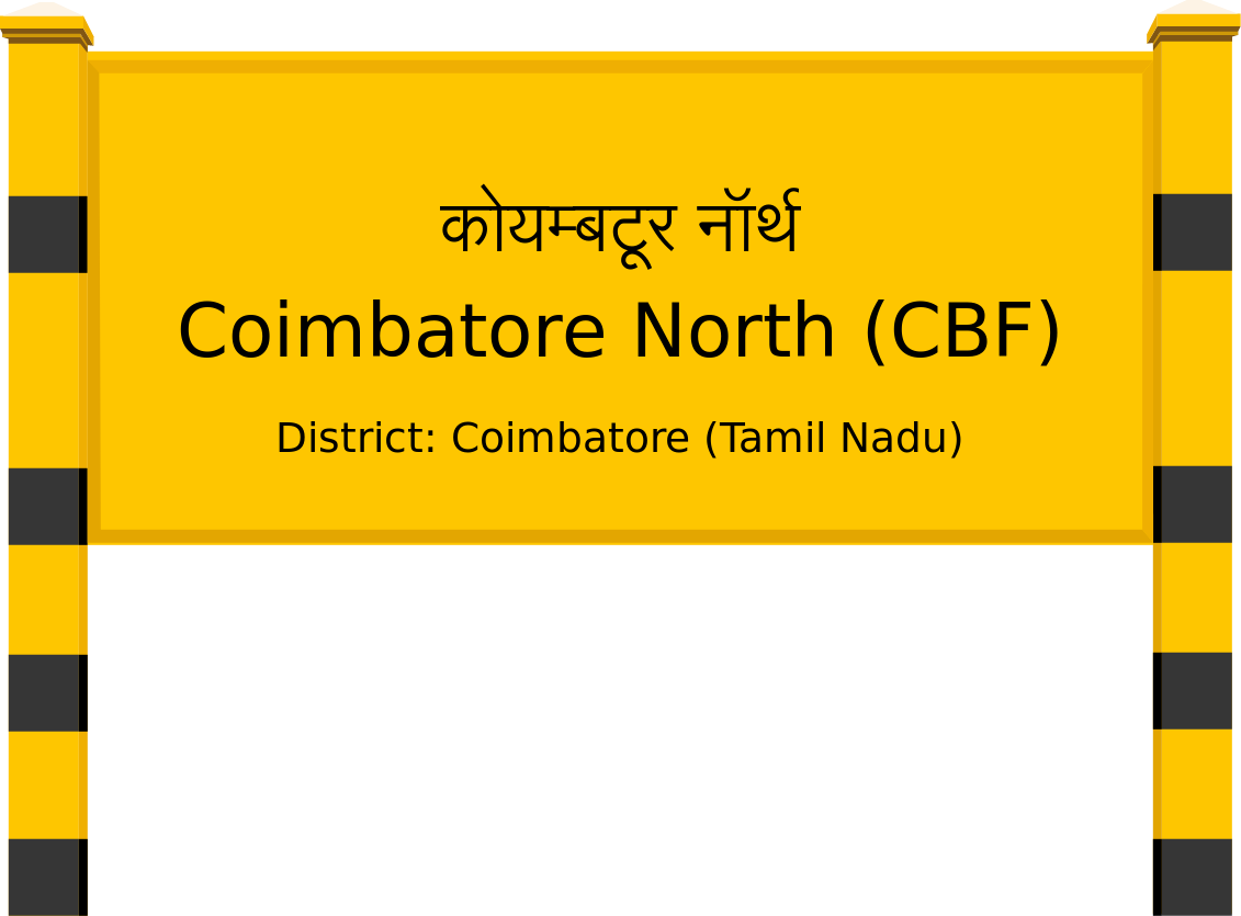 Coimbatore North (CBF) Railway Station