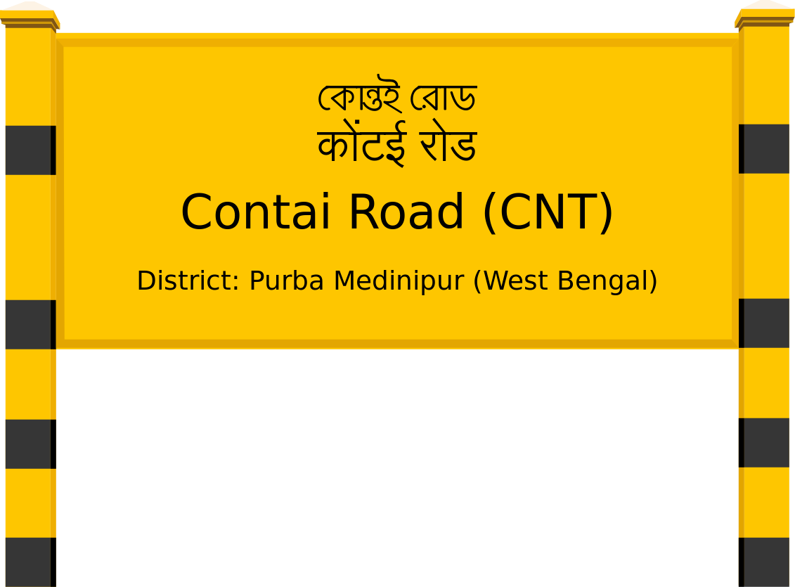 Contai Road (CNT) Railway Station