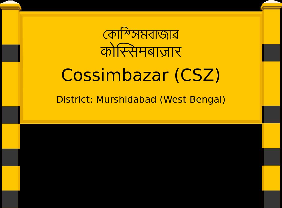 Cossimbazar (CSZ) Railway Station
