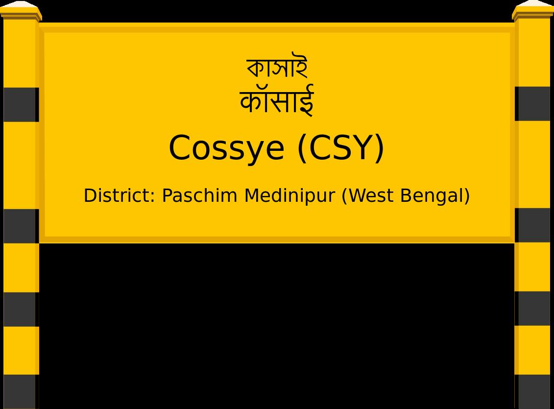 Cossye (CSY) Railway Station