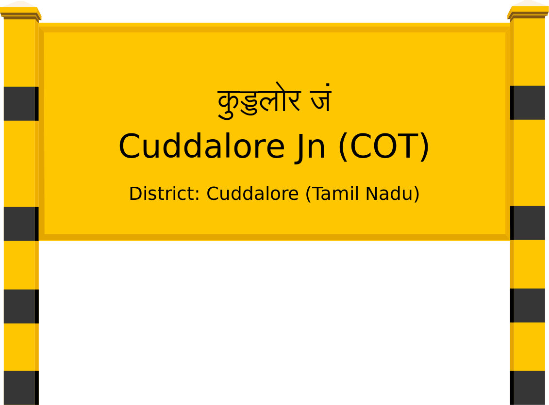 Cuddalore Jn (COT) Railway Station