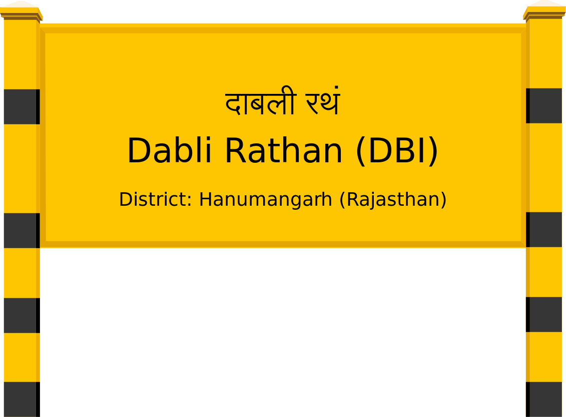 Dabli Rathan (DBI) Railway Station
