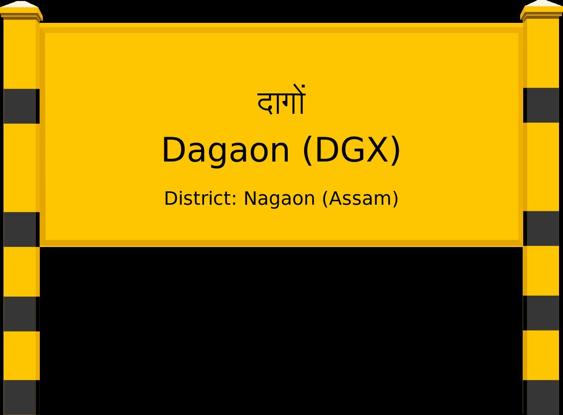 Dagaon (DGX) Railway Station