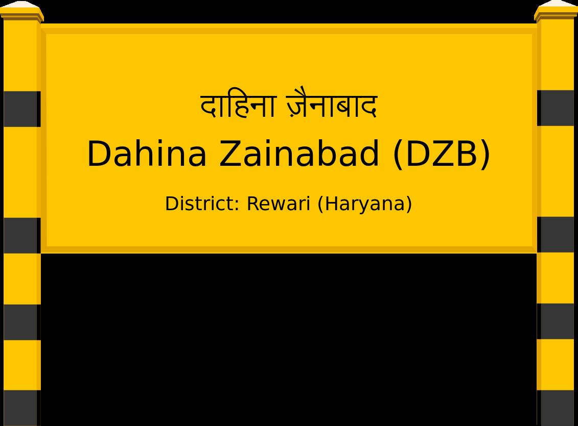 Dahina Zainabad (DZB) Railway Station