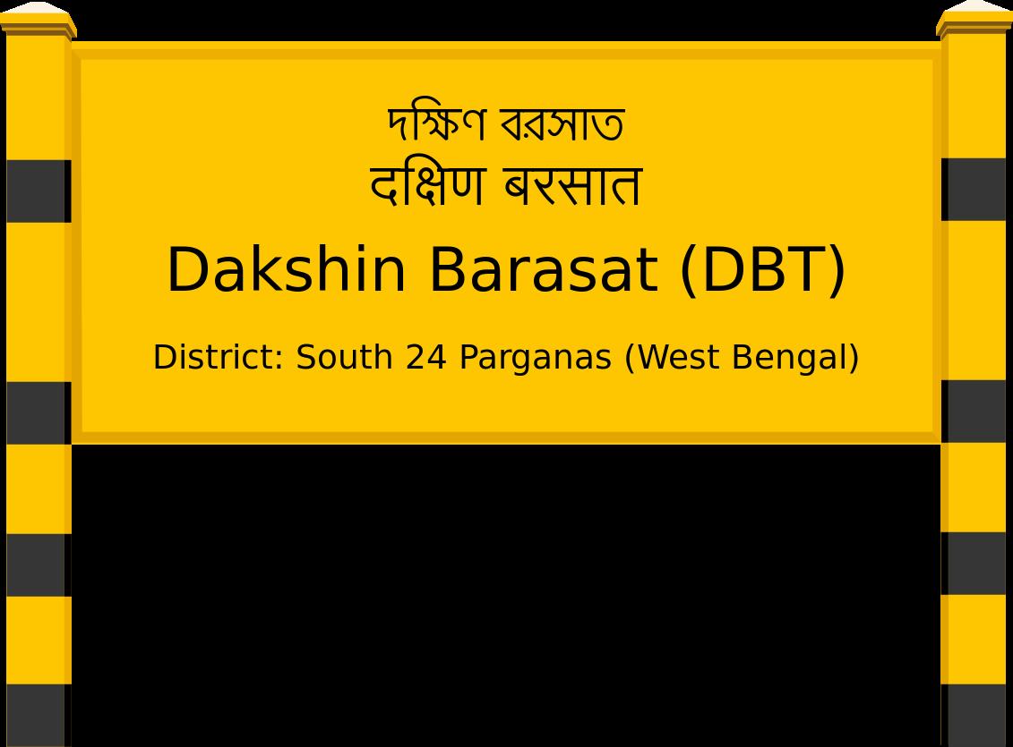 Dakshin Barasat (DBT) Railway Station