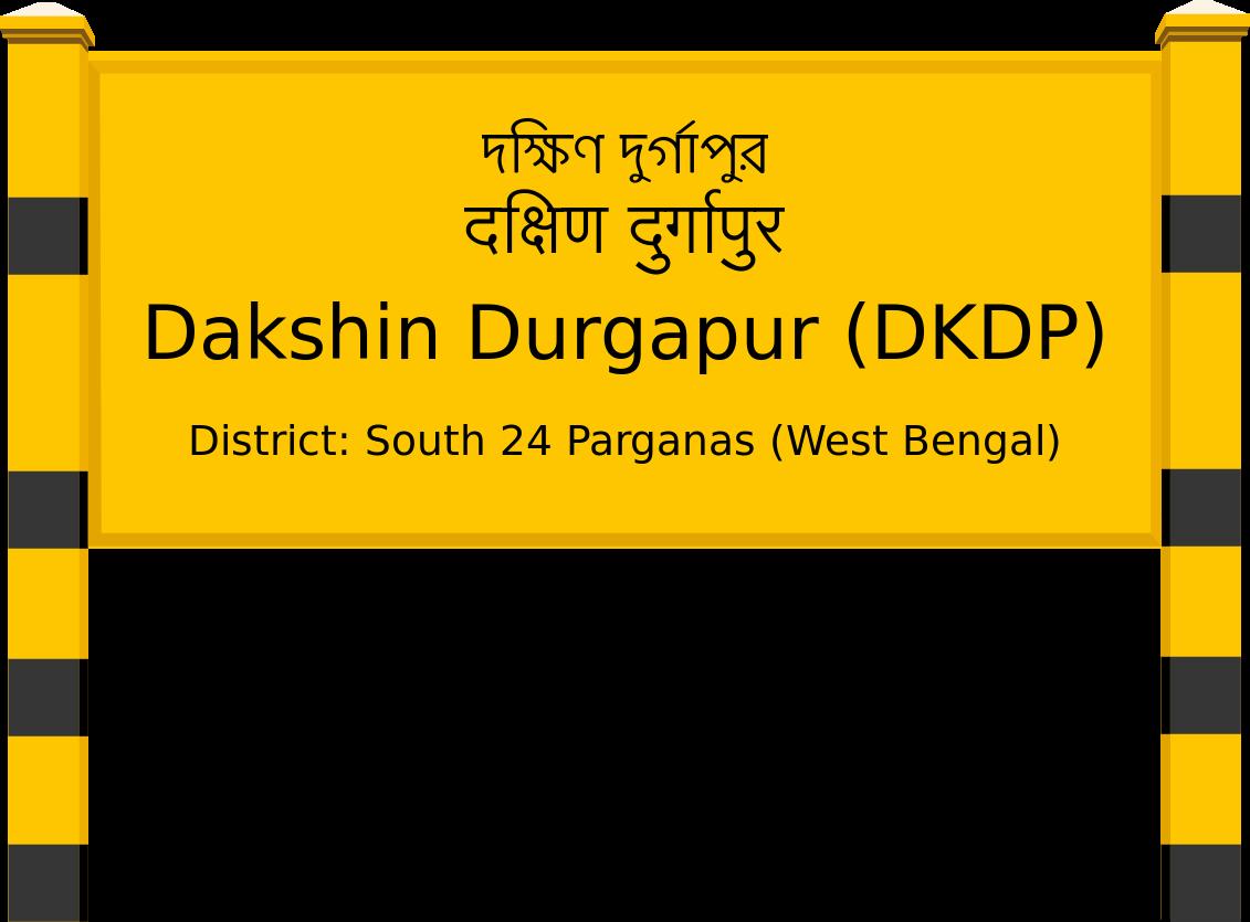 Dakshin Durgapur (DKDP) Railway Station