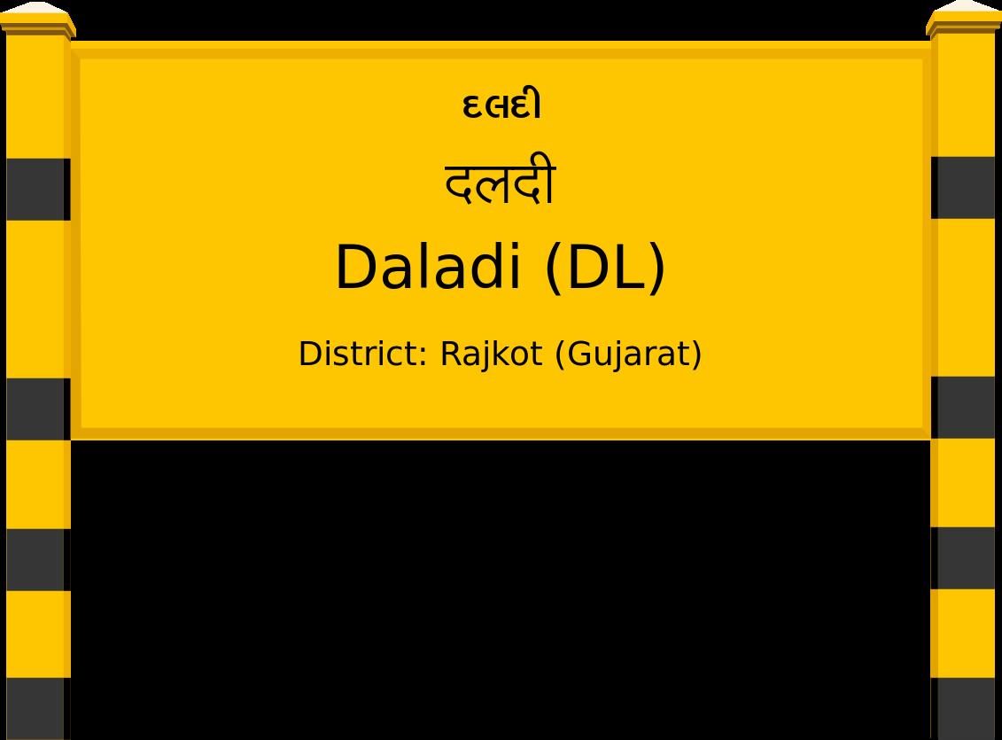 Daladi (DL) Railway Station