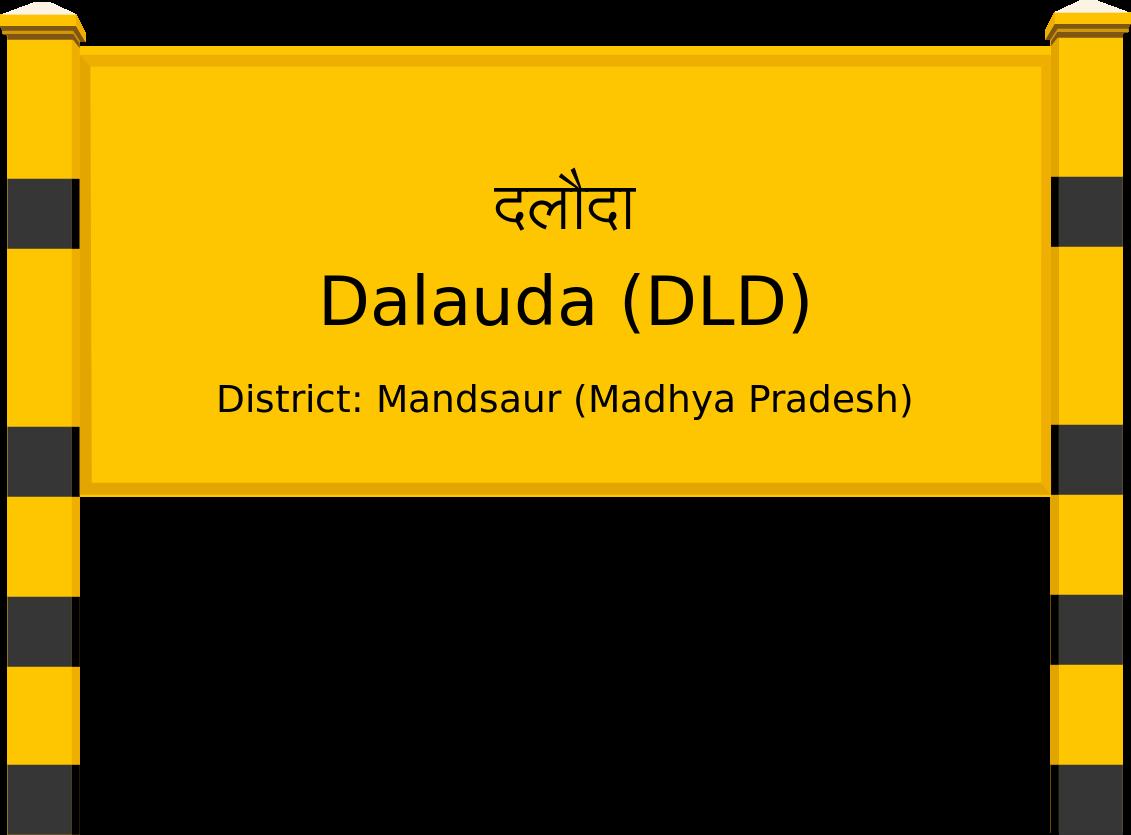 Dalauda (DLD) Railway Station