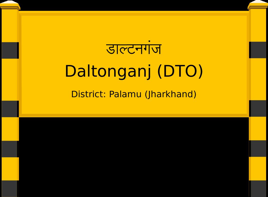 Daltonganj (DTO) Railway Station