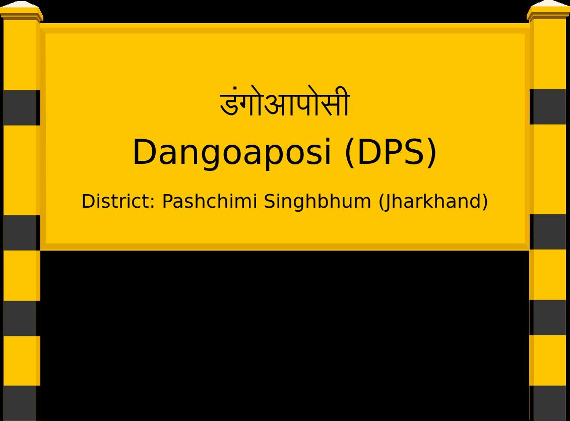 Dangoaposi (DPS) Railway Station