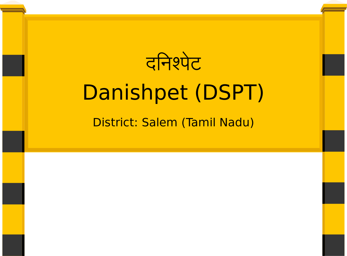 Danishpet (DSPT) Railway Station