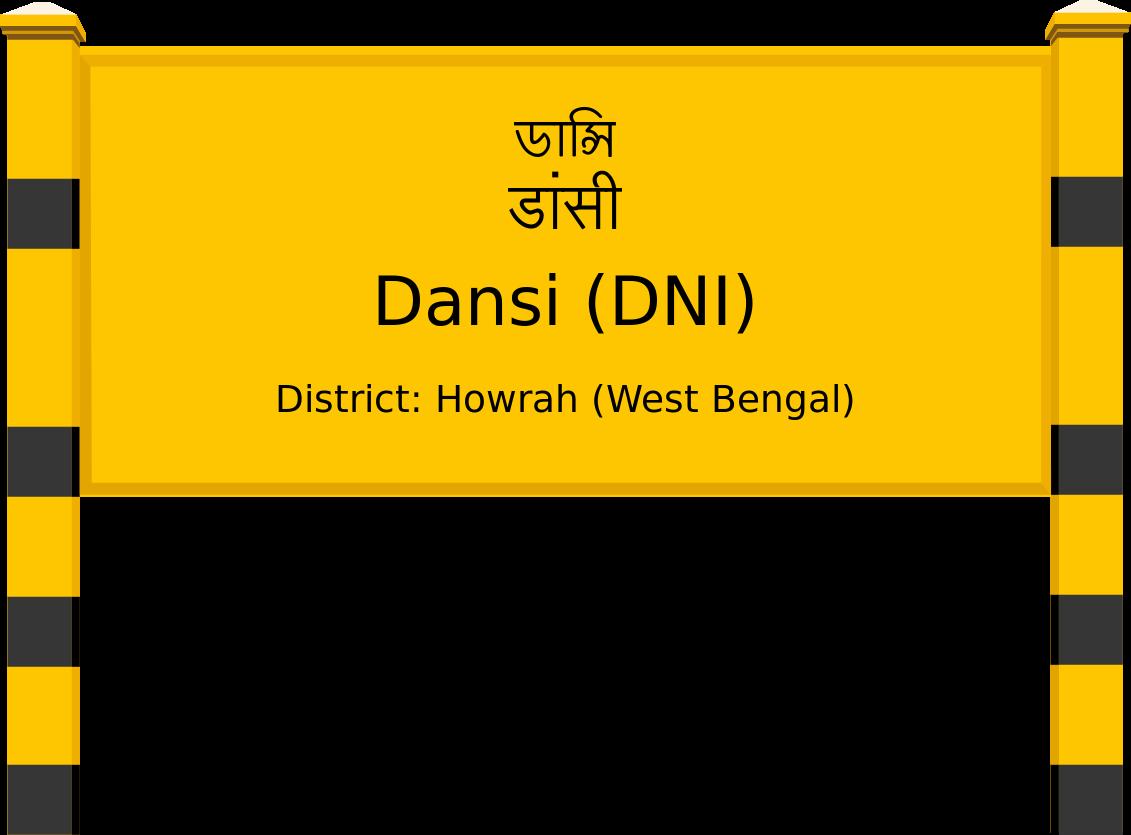 Dansi (DNI) Railway Station