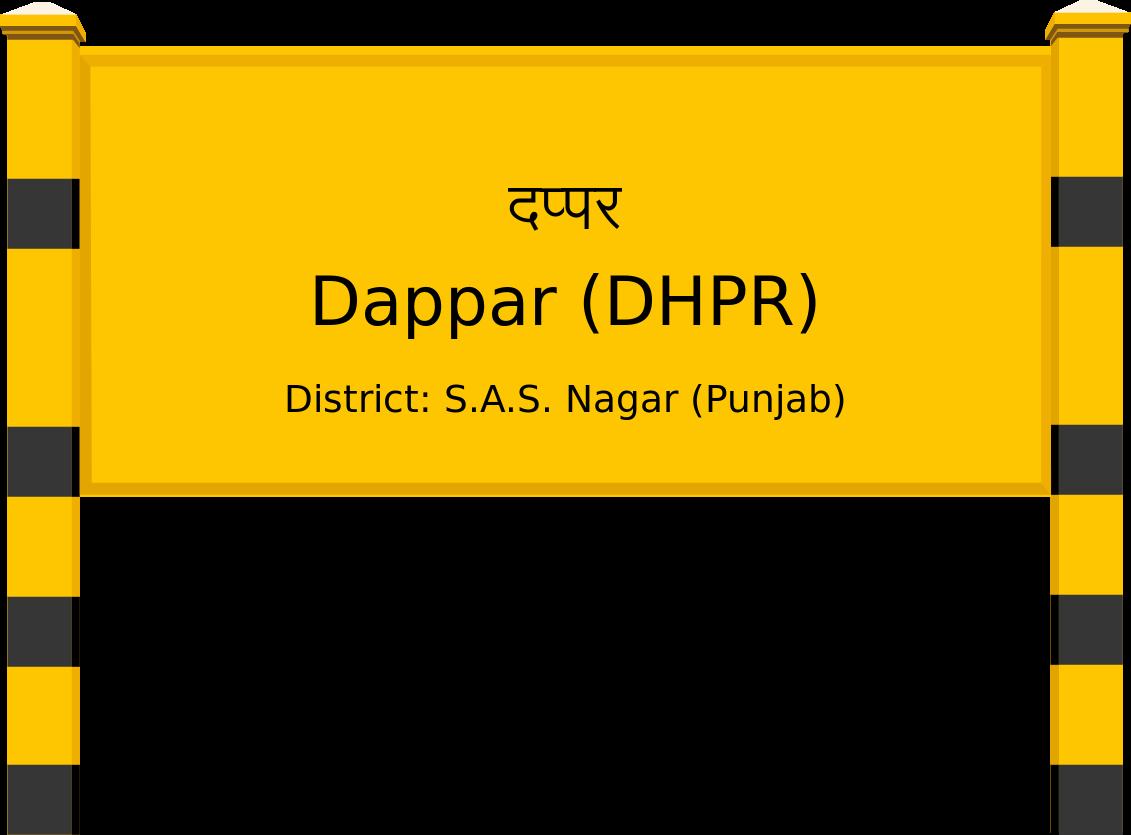 Dappar (DHPR) Railway Station