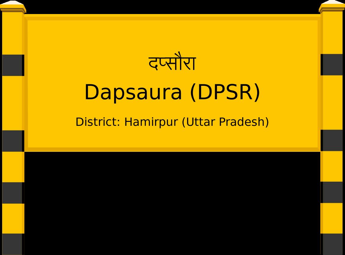 Dapsaura (DPSR) Railway Station