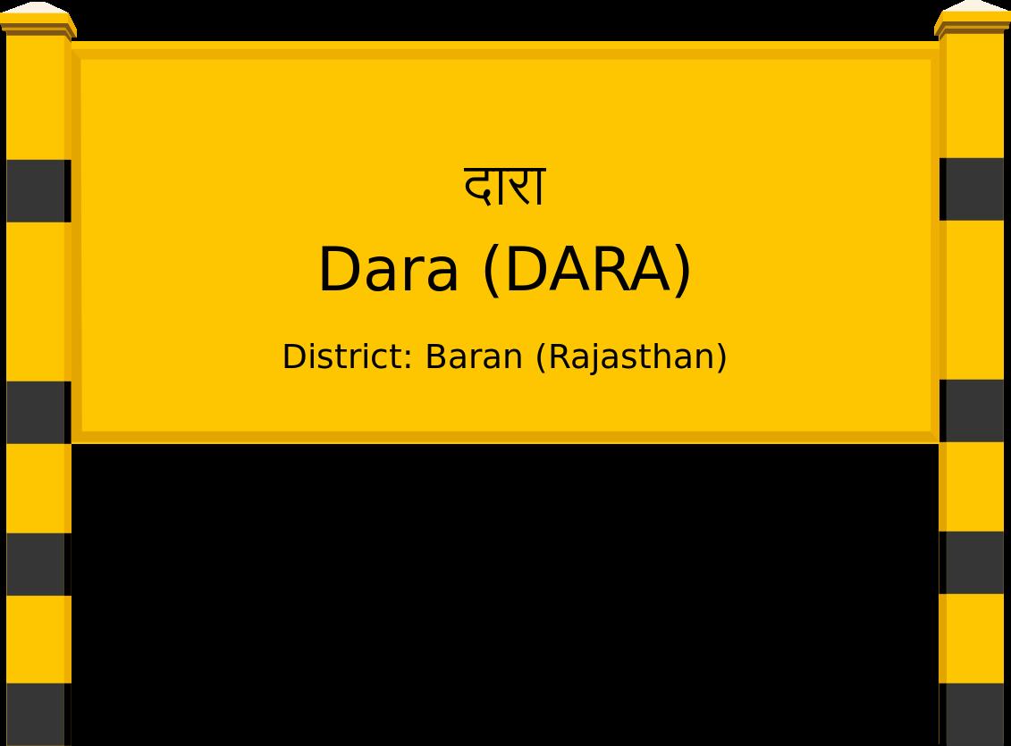 Dara (DARA) Railway Station