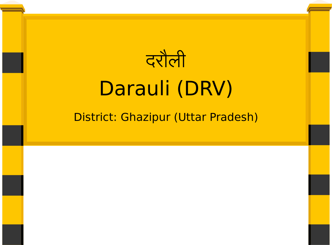 Darauli (DRV) Railway Station