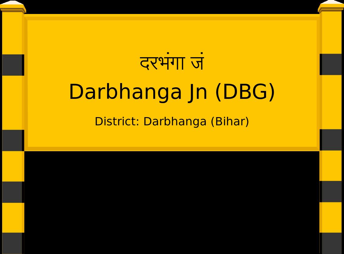 Darbhanga Jn (DBG) Railway Station