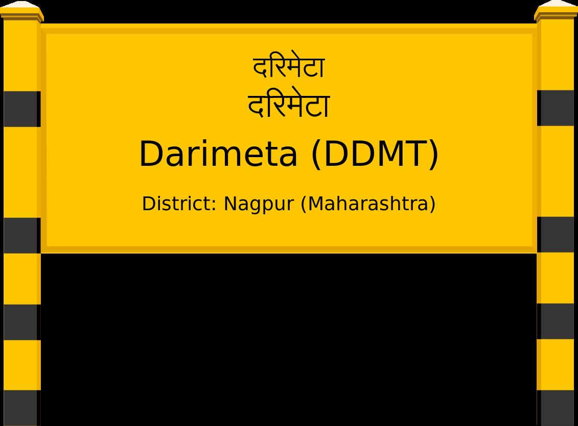 Darimeta (DDMT) Railway Station