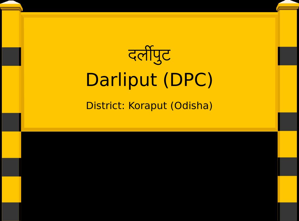 Darliput (DPC) Railway Station