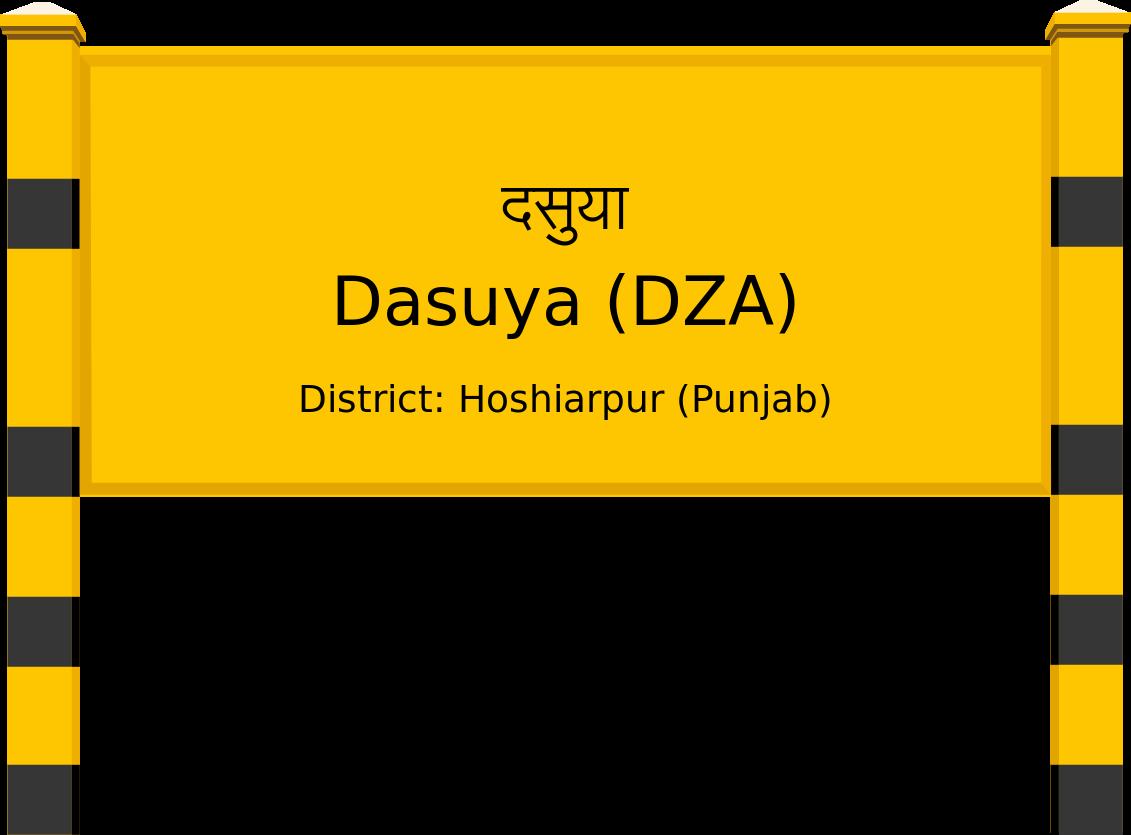 Dasuya (DZA) Railway Station